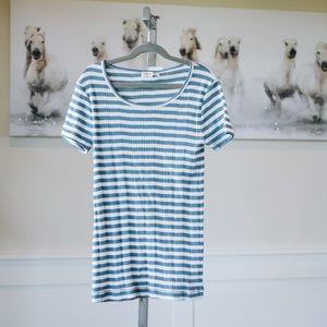 Madewell Striped Women's Tee NWT